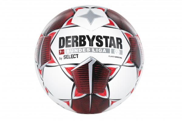 """Derbystar Fußball BUNDESLIGA """"Player Special"""" in Größe 5 der Saison 2019/2020, rot"""