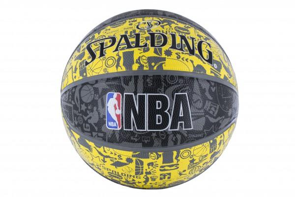 Spalding Basketball NBA Graffiti Outdoor in Größe 7