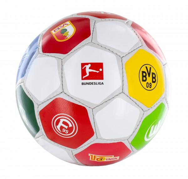 """Derbystar Fußball BUNDESLIGA """"Vereinslogos"""" Saison 20/21 in Gr. 5 schwarz"""