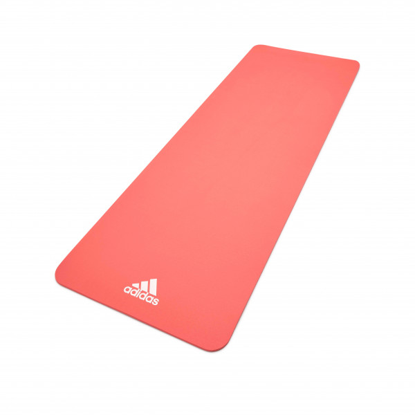Adidas Fitness- und Yogamatte, 8 mm, Pink
