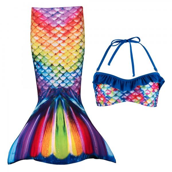 Fin Fun Meerjungfrau Bikini Set RAINBOW REEF